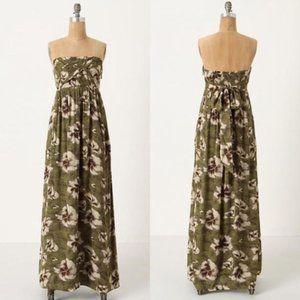 Anthropologie Edme & Esyllte Cultivated Maxi Dress